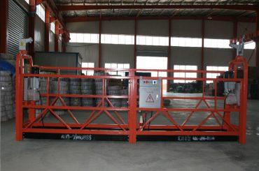 zlp1000 8 - 10 m / min piattaforma di sicurezza sospesa sicura per la costruzione e la manutenzione di edifici