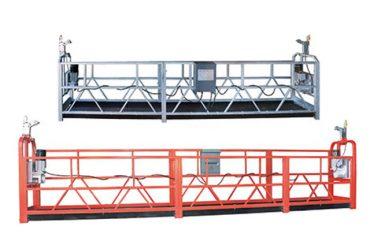 Zlp1000 per l'accesso sospeso in acciaio / alluminio da 10 m per 3 persone