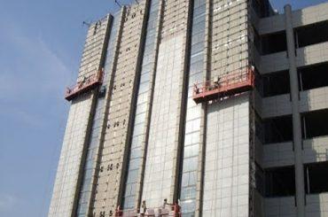 Grattacielo-pulizia-attrezzature-wall-intonacatura-machine