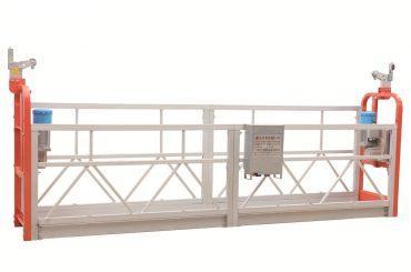 zlp630 piattaforma di lavoro sospesa per pulizia di facciate in acciaio verniciato