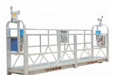 piattaforma sospesa motorizzata, cabinovia di costruzione, bmu (zlp500 / 630/800)