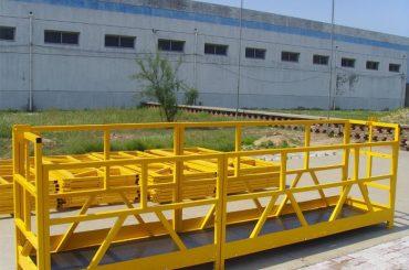 Piattaforma per la pulizia di finestre per edifici ad alta crescita ZLP 800 300M 2.5M * 3 1.8KW 800KG