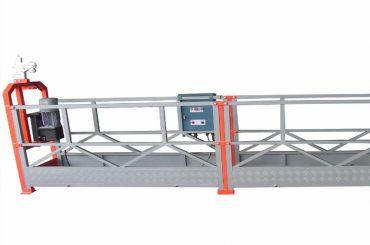 piattaforma di lavoro sospesa a 800kg con potenza di 1,8 kW