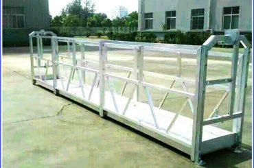piattaforme di lavoro sospese in acciaio / alluminio con blocco di sicurezza serie sal