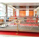 piattaforma sospesa in alluminio zlp630 (ce iso gost) / attrezzature per la pulizia di finestre con alzata elevata / gondola temporanea / culla / altalena