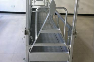 piattaforma di lavoro in acciaio sospeso / piattaforma in acciaio sospeso