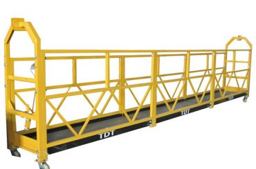 Piattaforma sospesa corda d'acciaio galvanizzata calda d'acciaio 1.5KW 380V 50HZ