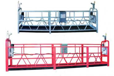 zlp 630 piattaforma sospesa a fune con piattaforma aerea con impalcatura in plastica verniciata a spruzzo