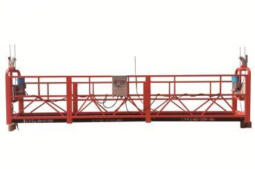 piattaforma sospesa temporanea in acciaio zincato a caldo, base di manutenzione zlp500