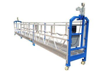 piattaforma di sicurezza sospesa in acciaio / cavo di sicurezza zlp800 con paranco ltd8.0
