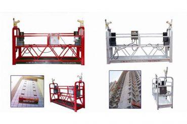 corda sospesa piattaforma di accesso, zlp630 costruzione ascensore macchina gondola