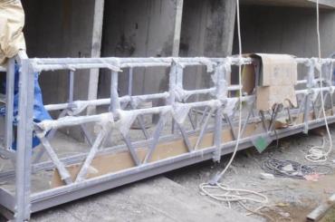 Piattaforma sospesa ad alta sicurezza con altezza di sollevamento 300m per verniciatura