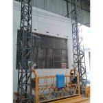 Piattaforma sospesa a corda in alluminio da 10m zlp1000 monofase 2 * 2.2kw
