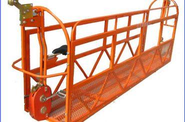 Piattaforma di lavoro sospesa in lega di alluminio da 1000 kg 7,5 mx 3 sezioni ZLP1000