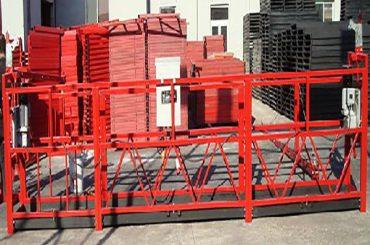 Piattaforma di lavoro sospesa per la pulizia dello zlp800 con carico nominale di 800 kg