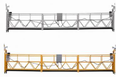Vendita calda Piattaforma sospesa in lega di alluminio / gondola sospesa / a culla sospesa / pensile sospeso con forma E