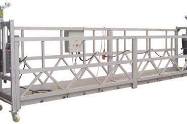 Apparecchiatura di accesso elettrico sospeso da 630 kg zlp630 con paranco ltd6.3