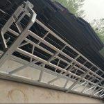 zlp630 / 800 ll forma lega di alluminio, piattaforma di lavoro sospesa costruzione in acciaio ascensore su finestre di costruzione