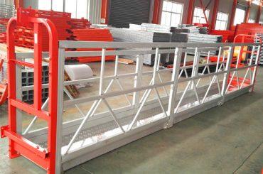Piattaforma di lavoro sospesa a 2 sezioni da 500 kg con contrappeso a 3 tipi