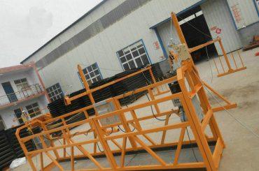 Piattaforma di lavoro sospesa dell'acciaio affidabile della pittura di ZLP630 per la costruzione di edifici (2)