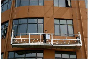 zlp630 piattaforma sospesa corda pulizia finestre