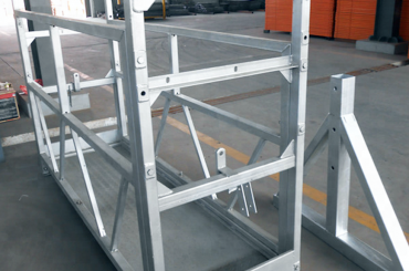 Piattaforma di montaggio per ascensori a piattaforma sospesa ad alta sicurezza zlp630 zlp800 zlp1000