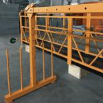 piattaforma sospesa monofase 800 kg 1,8 kw, velocità di sollevamento 8 -10 m / min