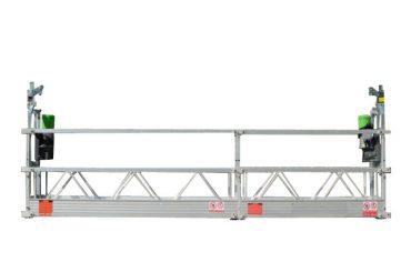 Piattaforma sospesa a corda monofase 220v / 60hz zlp500 zlp630 zlp800 zlp1000