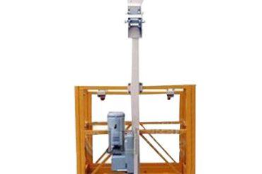 Piattaforma di lavoro sospesa l 250 kg singola con braccio di sollevamento ltd6.3