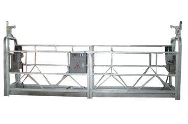 piattaforma sospesa con cavo di sicurezza mobile zlp500 con capacità nominale di 500 kg