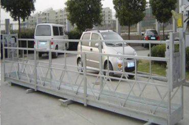 zlp630 piattaforma sospesa a fune / palco oscillante elettrico / ponteggi per lavavetri