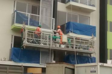 piattaforma sospesa di manutenzione della costruzione con paranco ltd8.0 zlp800